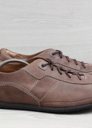 Мужские кожаные кроссовки clarks оригинал, размер 46