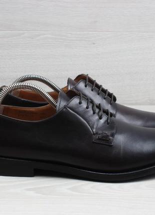Классические кожаные туфли church's england, размер 41 - 42