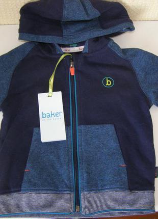 Ted baker кофта с капюшоном на молнии для мальчика 100% хлопок...