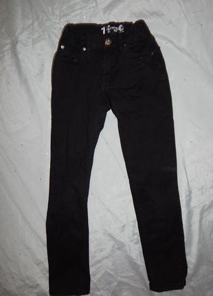 Джинсы черные модные на мальчика 10 лет 140см