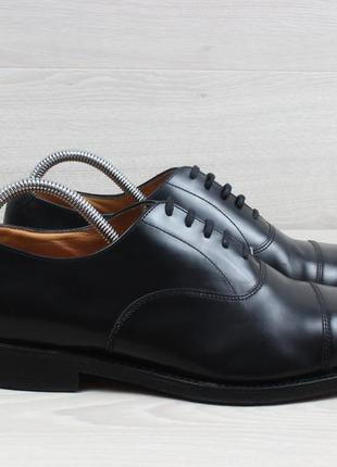 Классические кожаные туфли loake england, размер 42