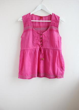 Sale!!! хлопковая яркая блуза
