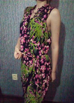 Стильное платье на запах. rodier.