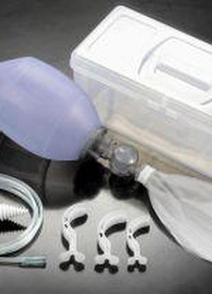 Аппарат для искусственной вентиляции легких с ручным приводом ...