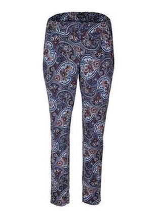 Мягкие брюки вискоза с этно принтом, в стиле casual,tchibo(гер...