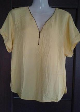 Фирменная вискозная блуза tu