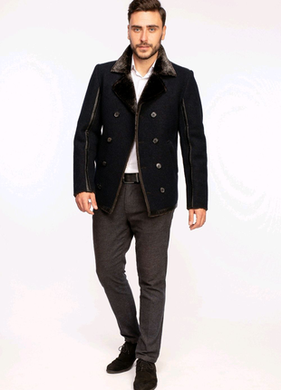 Мужское зимние пальто  модель17.01 Appart