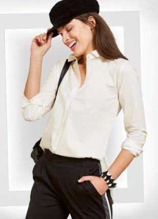 Стильная рубашка esmara, белая.
