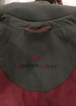 Фирменный center coat легкий плащ размер 40(48) на рост 170