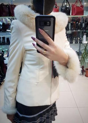 Парка ,зимняя куртка на меху ,пихора женская . черная пятница