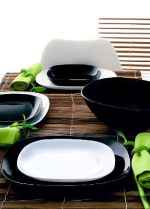 Набор посуды Luminarc Carine Black&White  19пр    2381 - 1491