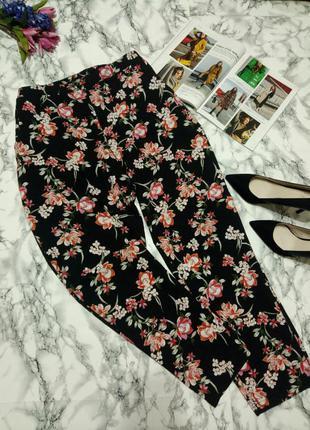 Красивые летные брюки с принтом (нс)