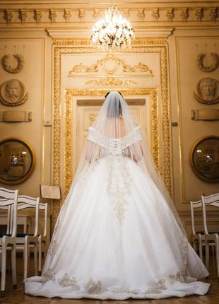 """Королевское свадебное платье """"sunny princess"""""""