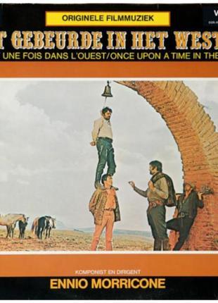 Виниловая пластинка ennio marricone - originele filmmuziek  © vic
