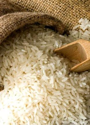 Рис длинный, круглый, пропаренный по 25 кг