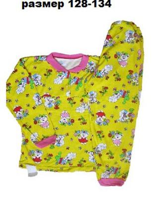 Пижама для девочки, детский костюм для дома