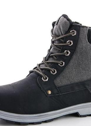 Подростковые зимние ботинки на меху 36