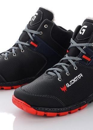 Подростковые зимние ботинки, кроссовки на меху