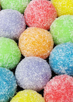 Сахарный скраб ручной работы Конфетки для тела