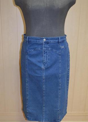 Жіноча джинсова спідниця юбка 💖💖💖