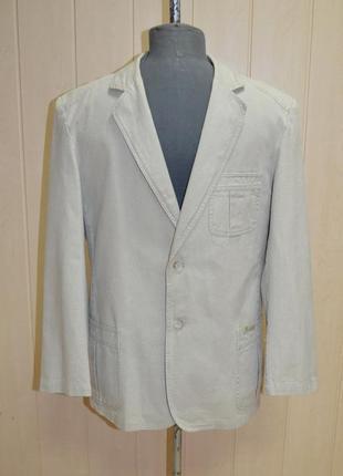 Оригінальний та стильний лляний чоловічий піджак