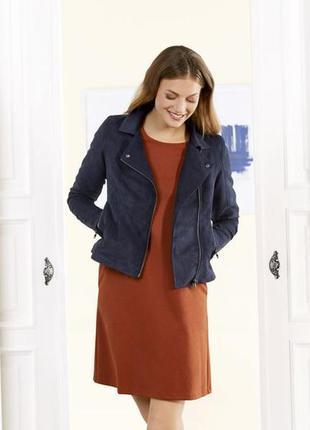 Куртка косуха замшева коротка байкер esmara 💖💖💖 розпродаж - 25...