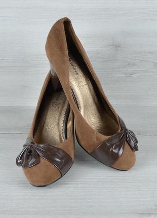 Красиві замшеві туфлі