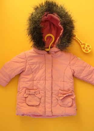 Куртка-парка (еврозима) с очень красивым мехом