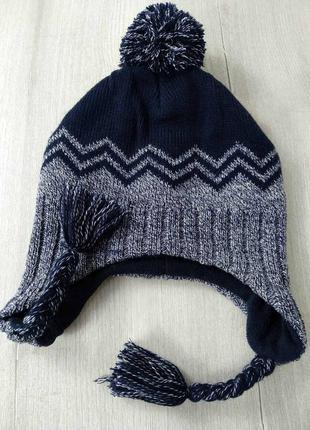 Тепленька шапочка для хлопчика з флісом від c&a 💖💖💖 - 25% 💖💖💖