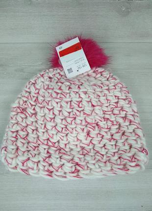 Зимова вязана тепла шапка від c&a на флисе 💖💖💖 - 30% 💖💖💖