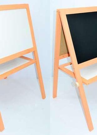 Мольберт Игруша магнитный (15732) Оранжевый