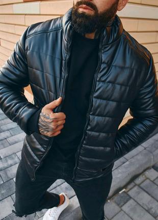 Кожаная куртка Asos премиум качества