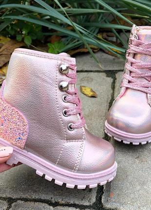 Ботинки зимние зима 2019