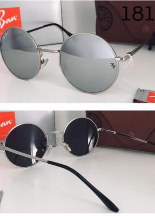 Тренд сезона 2019 круглые солнцезащитные очки зеркальные