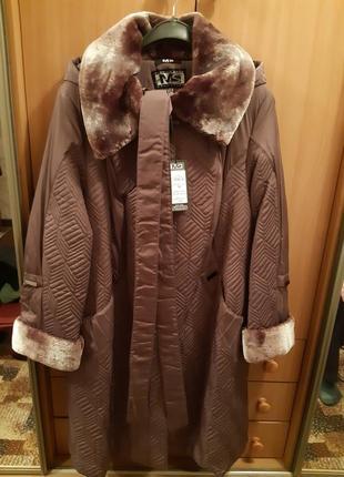 Женские зимнее пальто 56 размера
