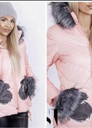 Женская зимняя куртка на подростка можно