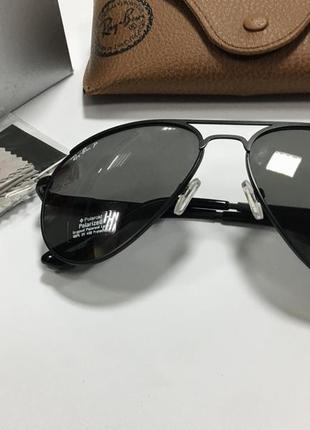 Очки солнцезащитные авиаторы с поляризованными линзами