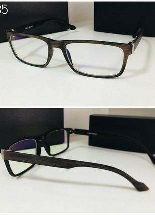 Очки для работы за компьютером и смартфоном