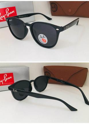 Солнцезащитные очки круглые поляризованные линзы
