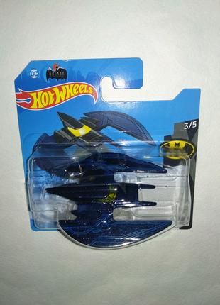 Hot Wheels машинка хот вилс Бэтмен Batplane DC Batman Mattel