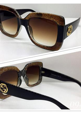 Женские очки солнцезащитные квадраты