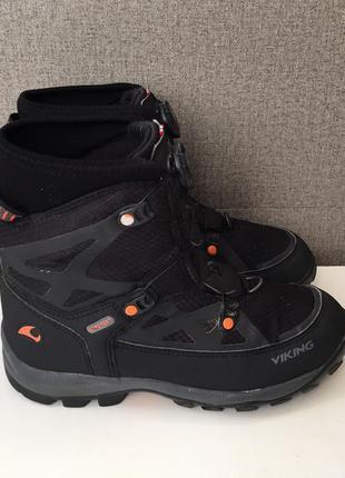 Зимові дитячі черевики viking gore-tex зимние детские ботинки ...