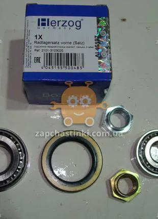 Ремкомплект ступицы ВАЗ 2101 - 2107 (2 подшип., гайка, сальник)