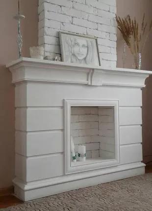 Камин из гипса, декоративный портал. Портал камина (М3)