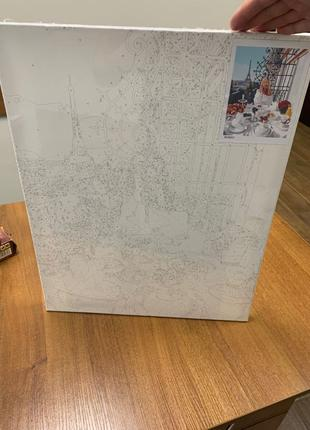 Картина «Дівчина» для розкраски