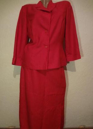 Костюм пиджак и юбка canda by c&a размер м