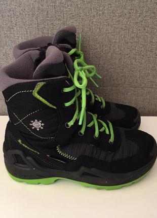 Зимові дитячі черевики lowa luca gore-tex зимние детские ботин...