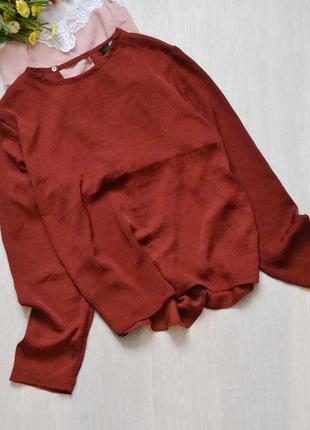 Воздушная блузка с красивой спинкой h&m