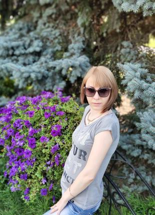 Женские очки  серой градиент линза с поляризацией ( код 328)