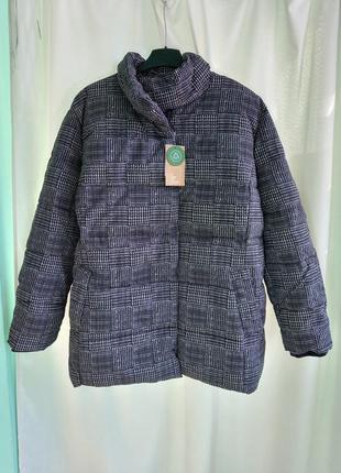 Зимняя куртка большого размера,батал
